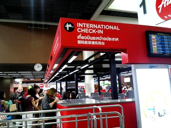 airasia регистрация в аэропорту