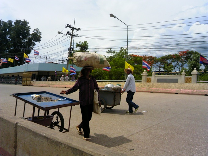 граница Камбоджа Таиланд