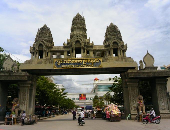 из Таиланда в Камбоджу граница
