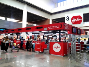 airasia check in airport