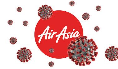 Airasia прекращает пассажирское сообщение из-за коронавируса