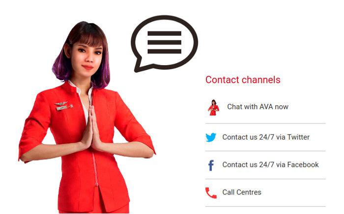 Чат AirAsia, как правильно общаться в чате онлайн